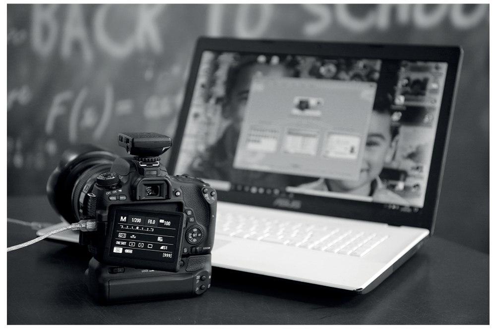 Notre logiciel de prises de vues image